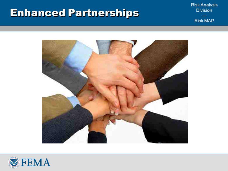 Risk Analysis Division — Risk MAP Enhanced Partnerships