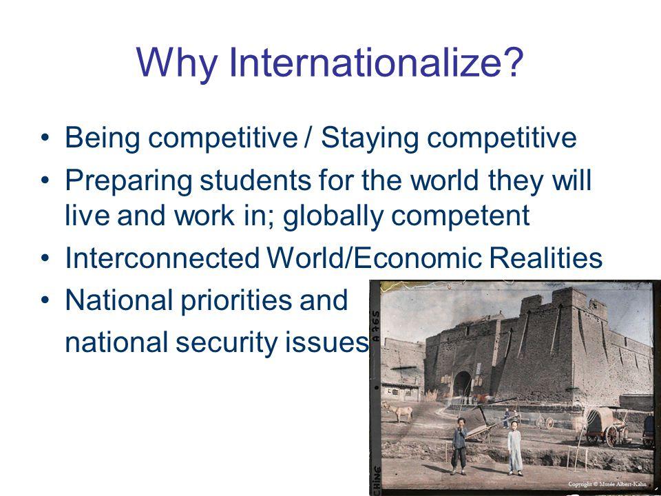 Why Internationalize.