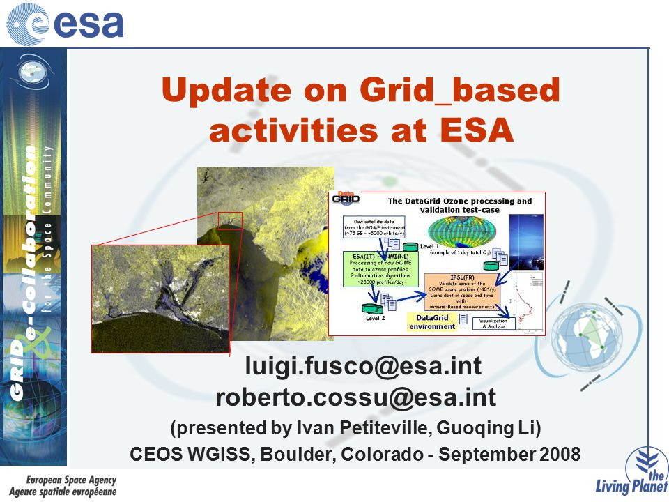 DEGREE IST 2005-034619 Objectives / Challenges / Vision Strategic Objectives –Disseminate, promote uptake of Grid in wider ES community, integrate newcomers –Reduce the gap between ES Users and Grid Technology –Explain and convince ES users of Grid benefits and capability to tackle new and complex problems Challenges –Promote integration of ES tools and applications in EGEE and other Grid environments –Evaluating complementary technologies that are under development –Collect and analyze the requirements of ES complex applications –Exploit GRID as infrastructure for international e-collaboration development (sharing of data, tools, models … ) Vision –A community wide Earth Science Knowledge Infrastructure