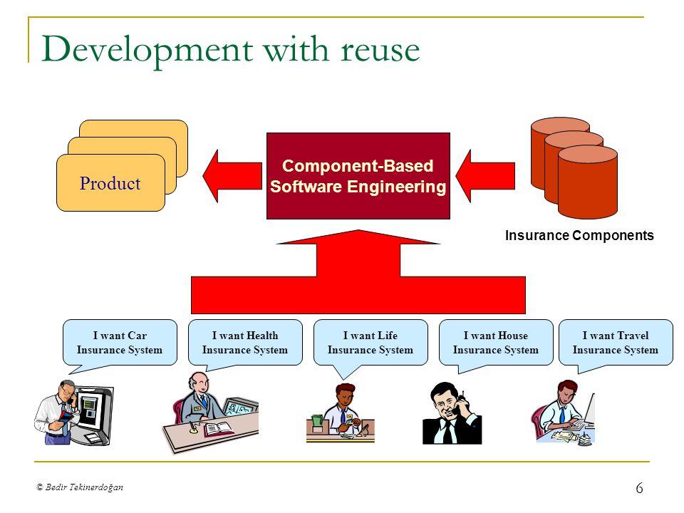 © Bedir Tekinerdoğan 17 Product Implementation alternatives Alternative Implementations Domain Model
