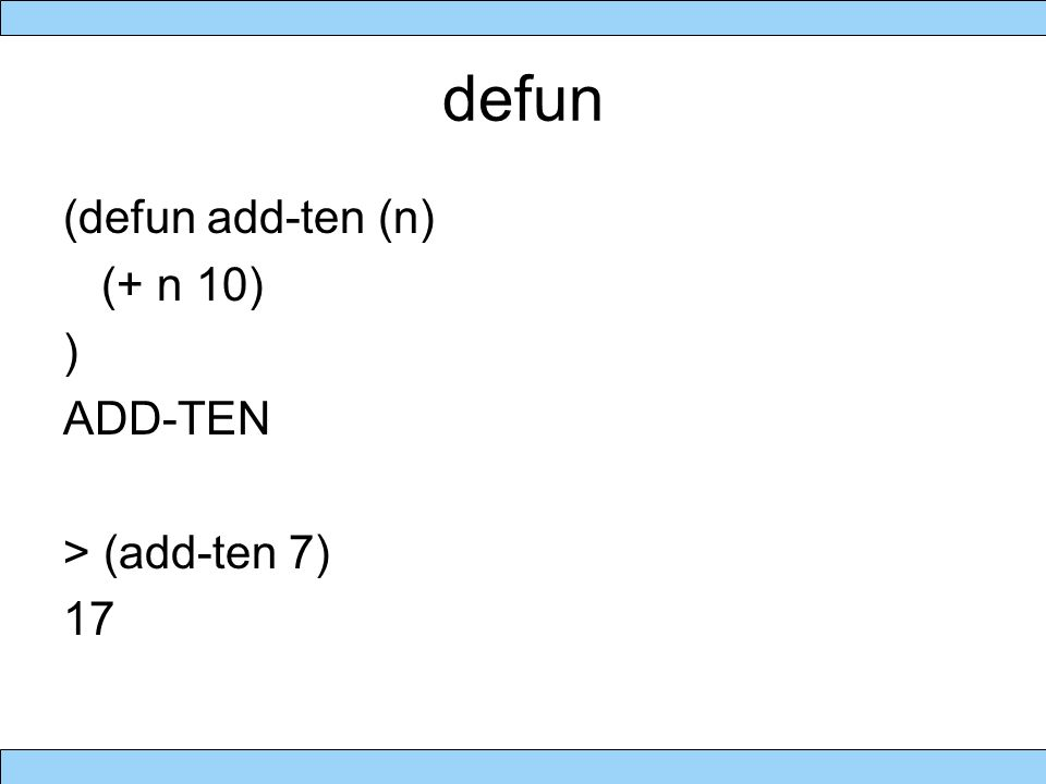 cond statement (cond (test1 statement 1 … statement n) (test2 statement 1 … statement m) … (testk statement 1..
