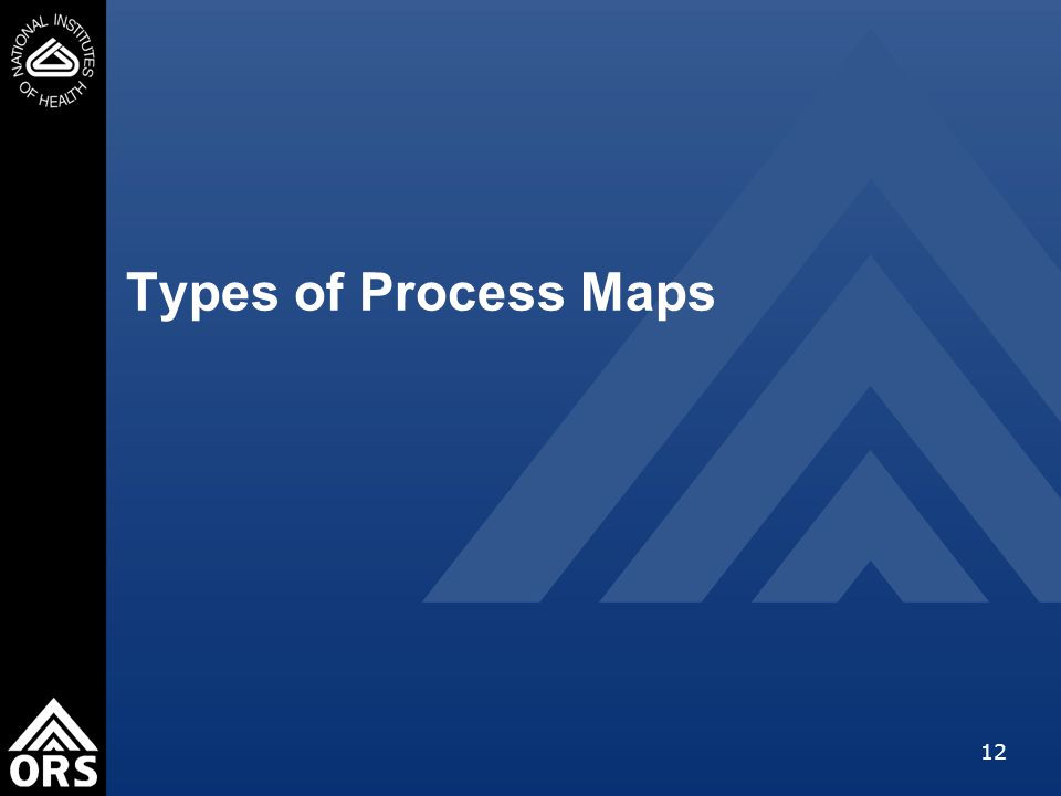 12 Types of Process Maps
