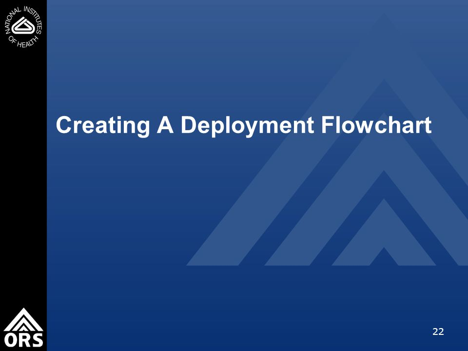 22 Creating A Deployment Flowchart