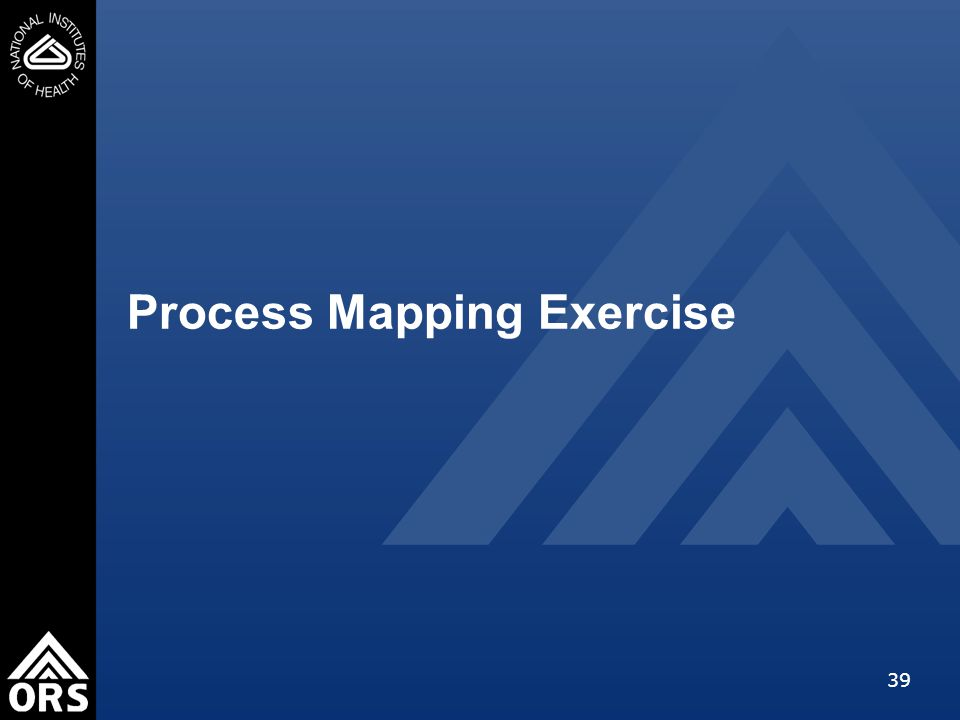 39 Process Mapping Exercise