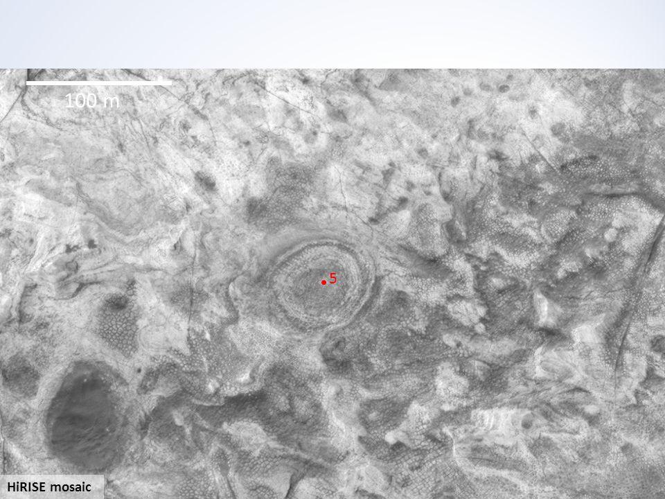 HiRISE mosaic 100 m 5