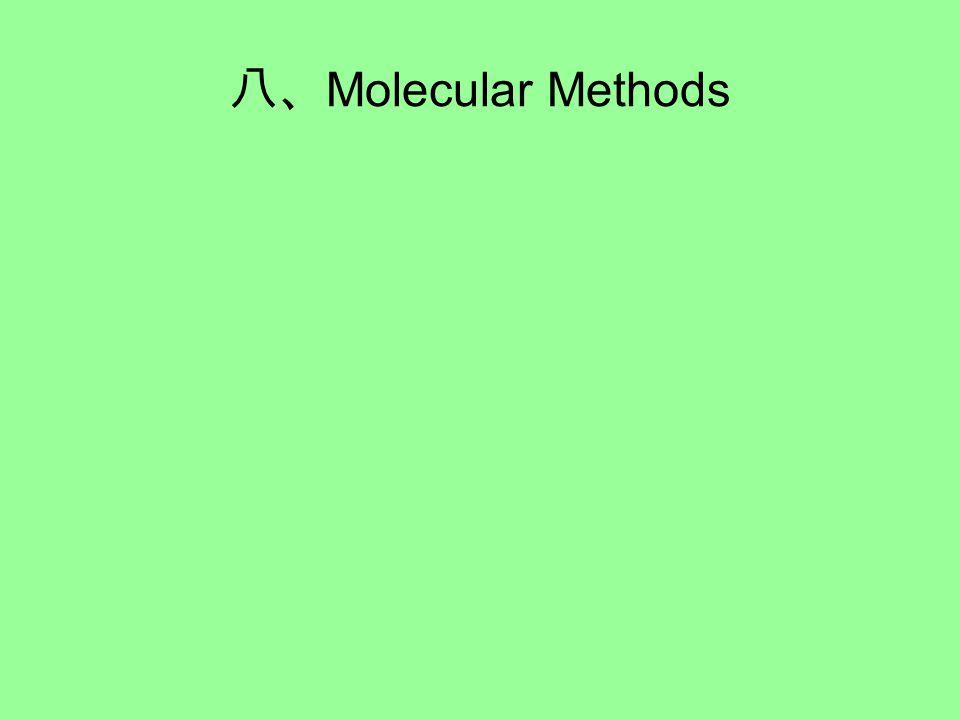 八、 Molecular Methods