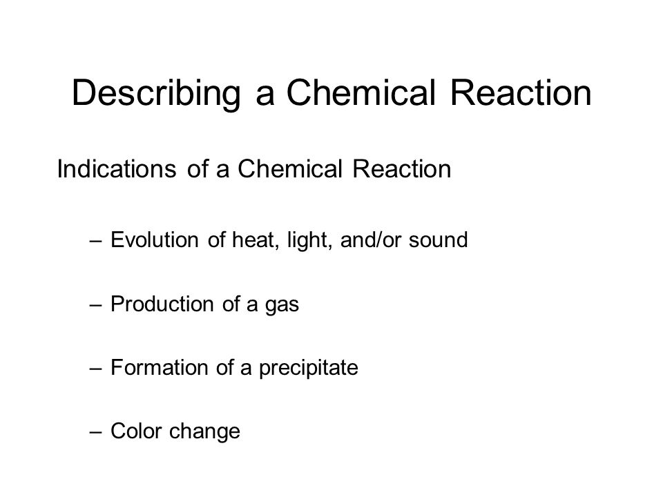 1) Write a word equation for the reaction.