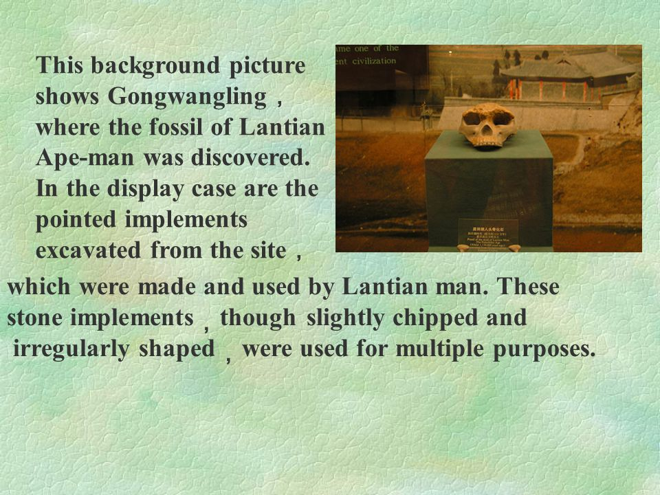 After the discovery of the man ' s fossil in Lantian , the fossil of a rather complete hominid skull was found in Dali County , Shaanxi Province in 1978.