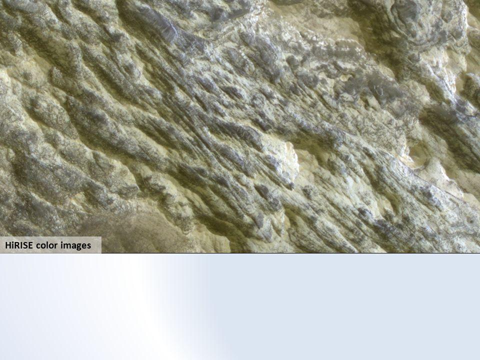 HiRISE color images