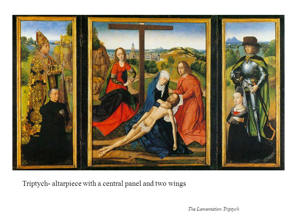 Change in scale: contrast between figures in the foreground and the figures in the background
