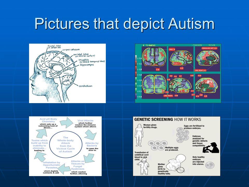 Pictures that depict Autism