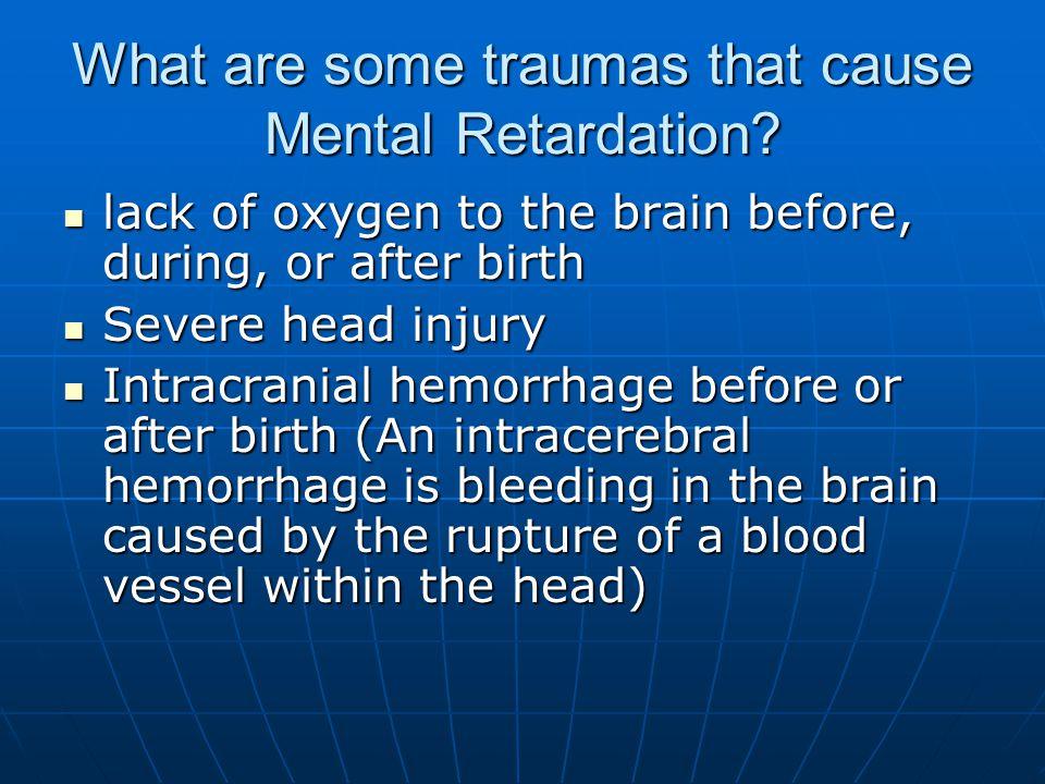 Pictures that depict Mental Retardation
