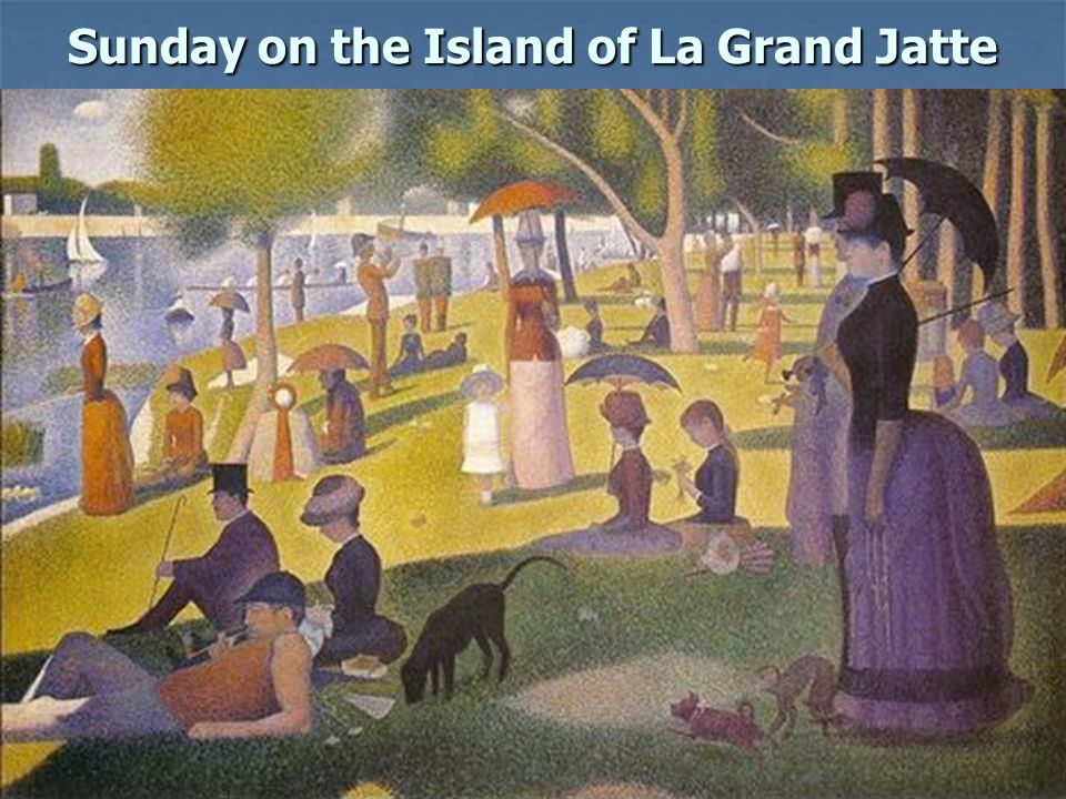 Sunday on the Island of La Grand Jatte