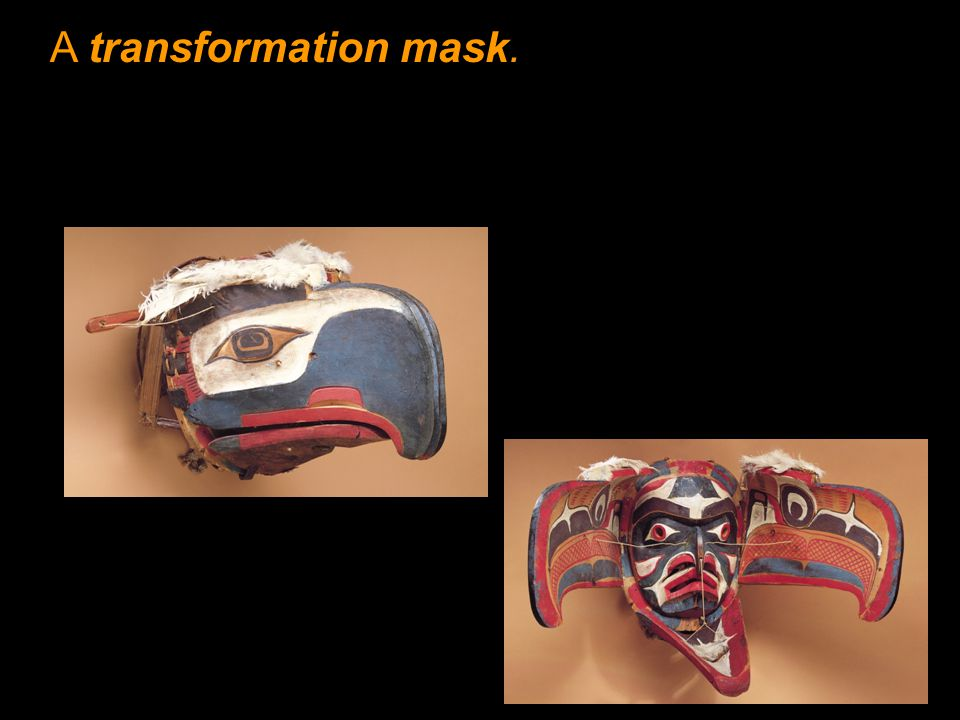 A transformation mask.