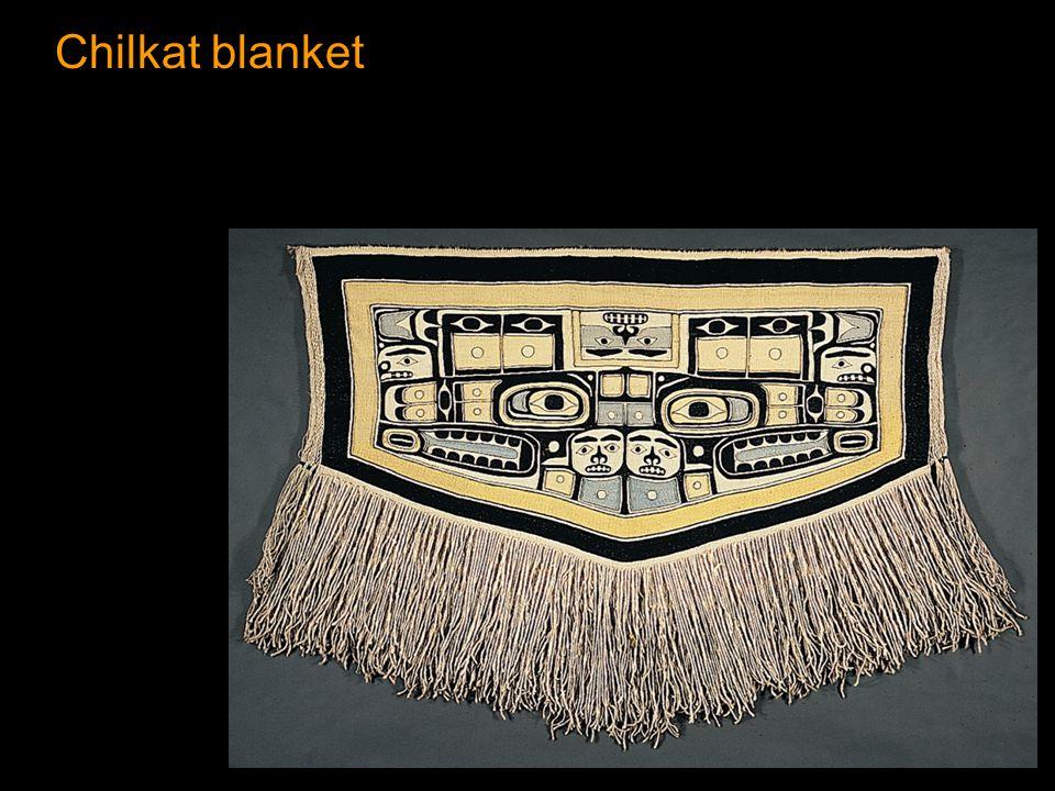 Chilkat blanket