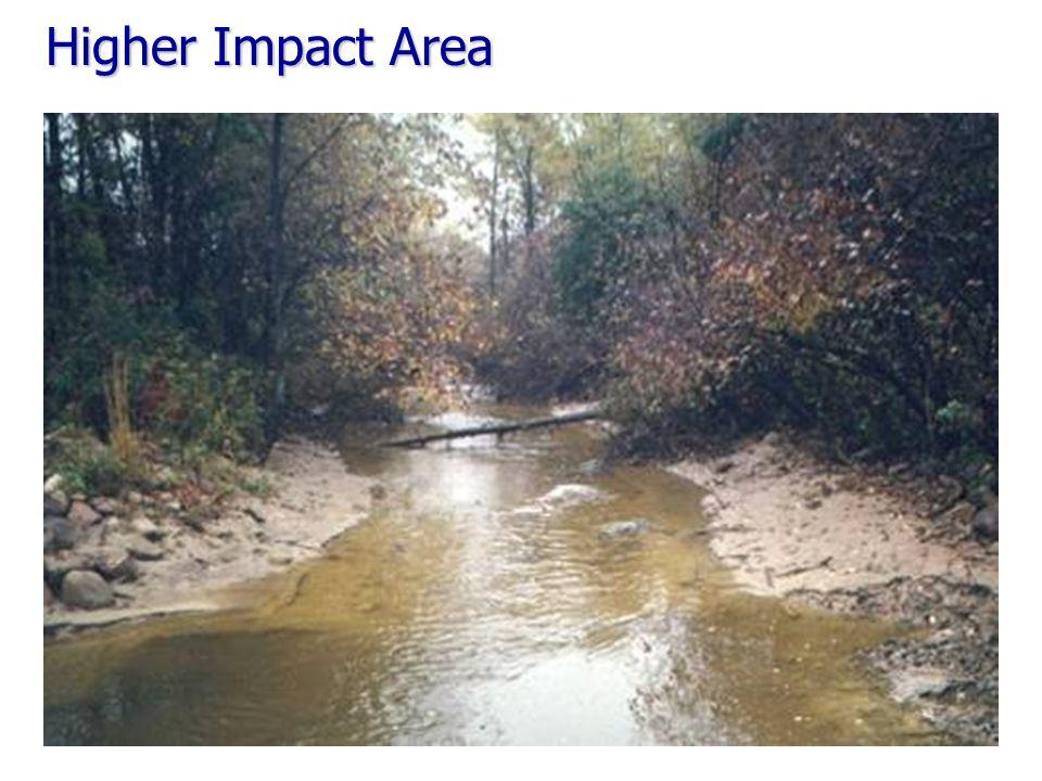 Higher Impact Area