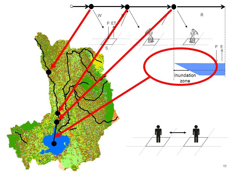 11 P E R Q P ET S W R Inundation zone
