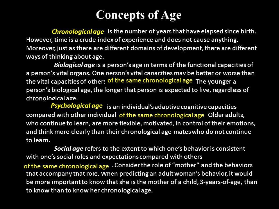Concept: Age