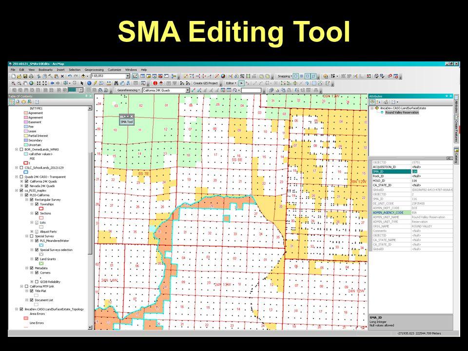 SMA Editing Tool