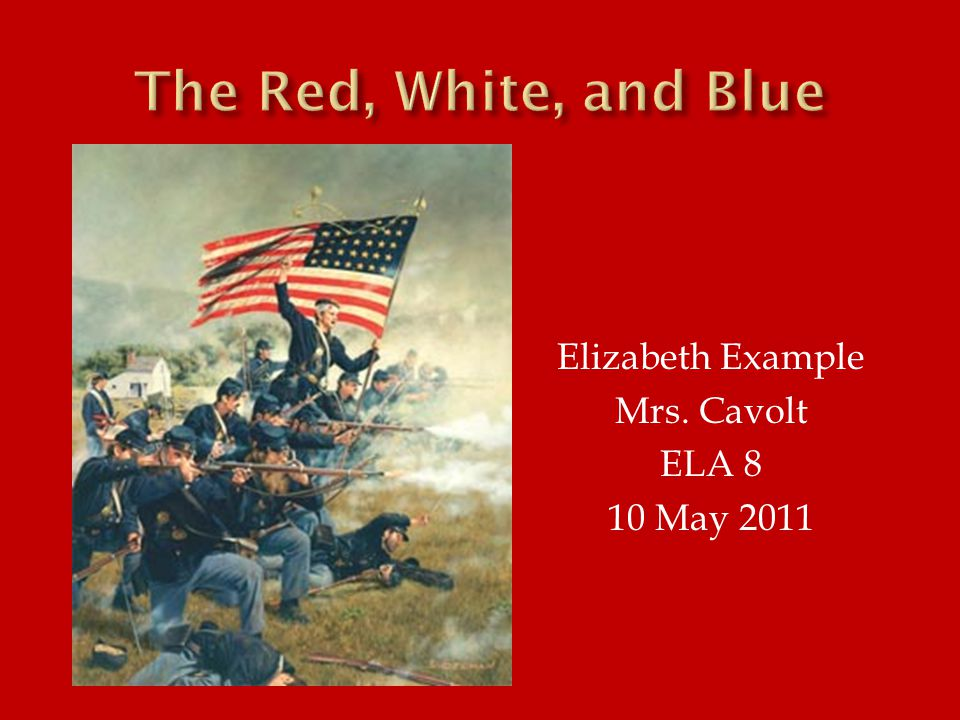 Elizabeth Example Mrs. Cavolt ELA 8 10 May 2011