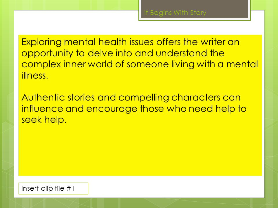 Helping the audience better understand mental illness can reduce barriers to treatment and recovery.