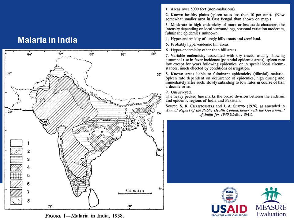 Malaria in India
