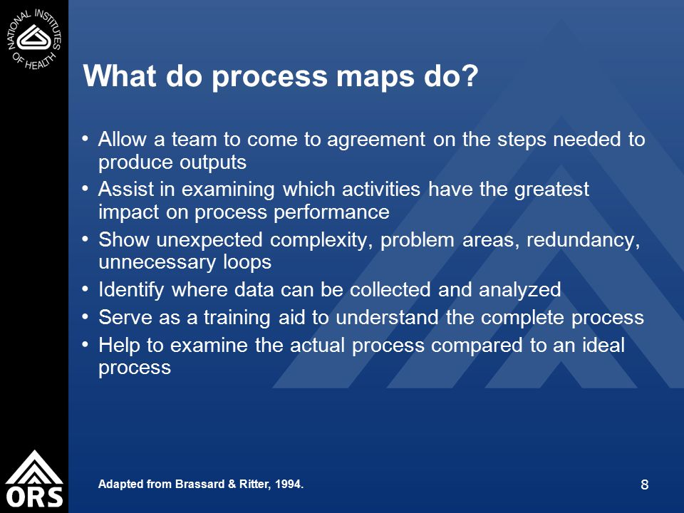 39 Process Mapping Exercise (cont.) Feedback How did it go.