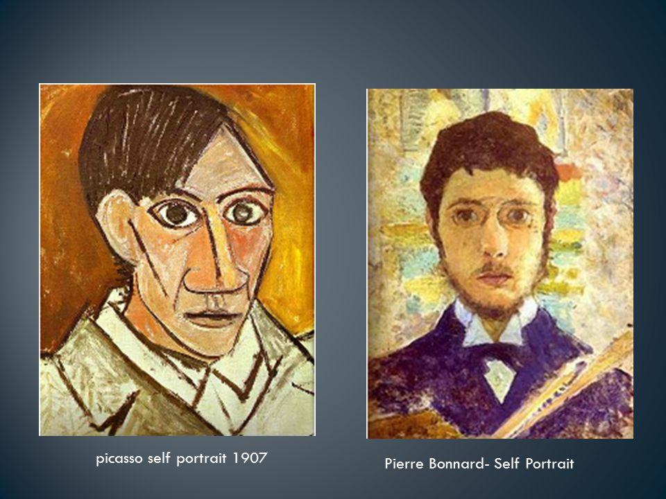 picasso self portrait 1907 Pierre Bonnard- Self Portrait