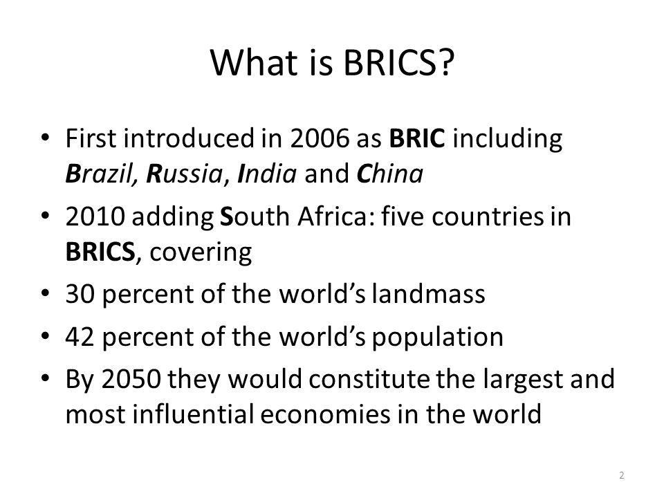 What is BRICS.
