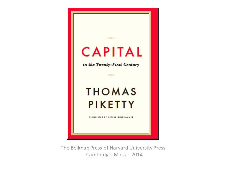The Belknap Press of Harvard University Press Cambridge, Mass. - 2014