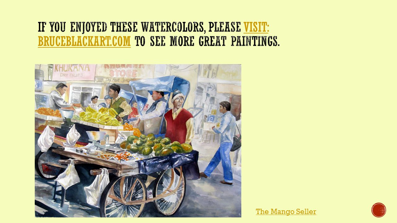 The Mango Seller