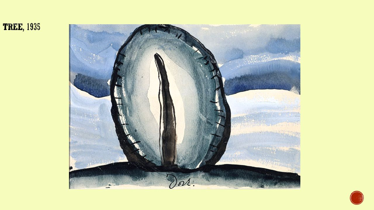  O'Keeffe brought her own personal instincts and style to the American art scene in the early 1900's.