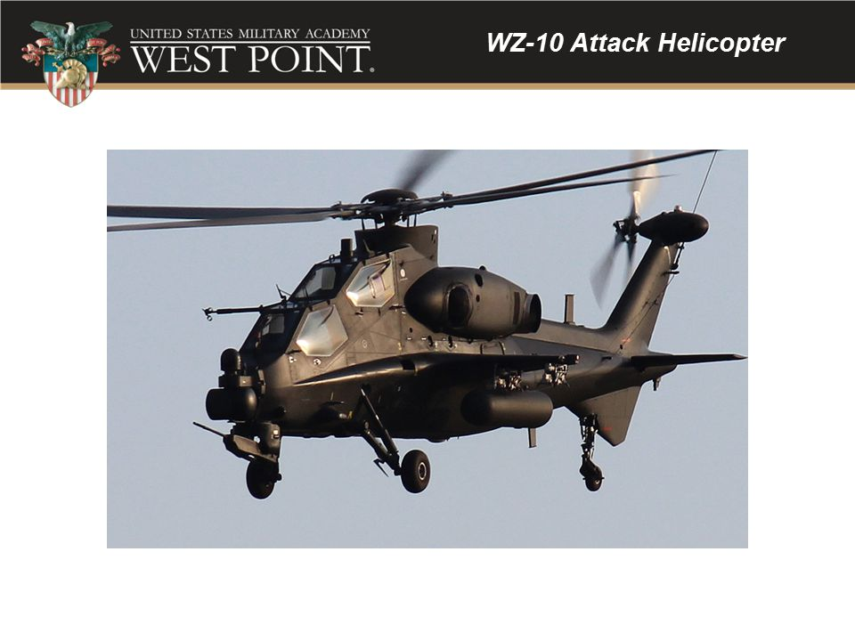 WZ-10 Attack Helicopter