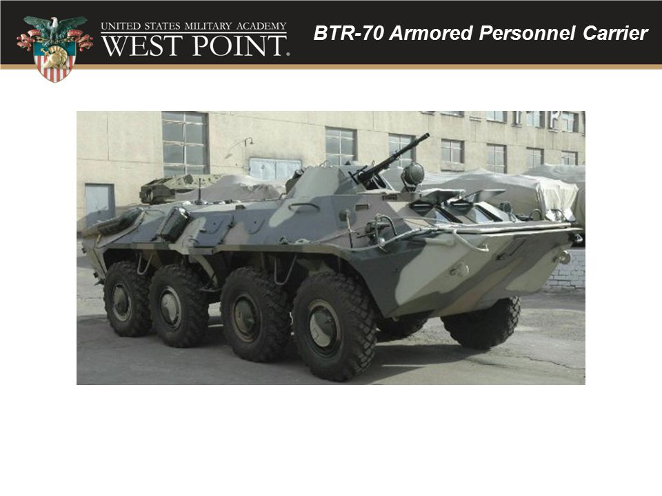 BTR-70 Armored Personnel Carrier