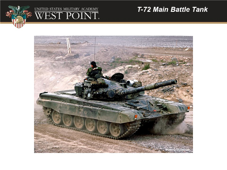 T-72 Main Battle Tank