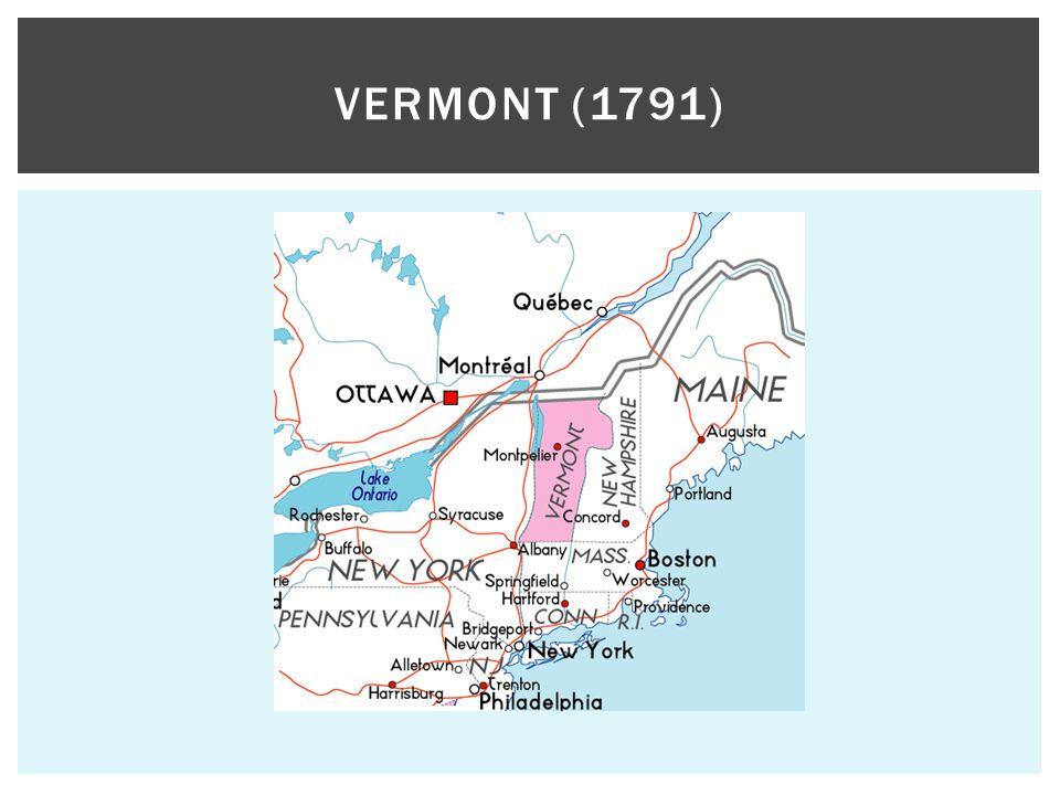 VERMONT (1791)