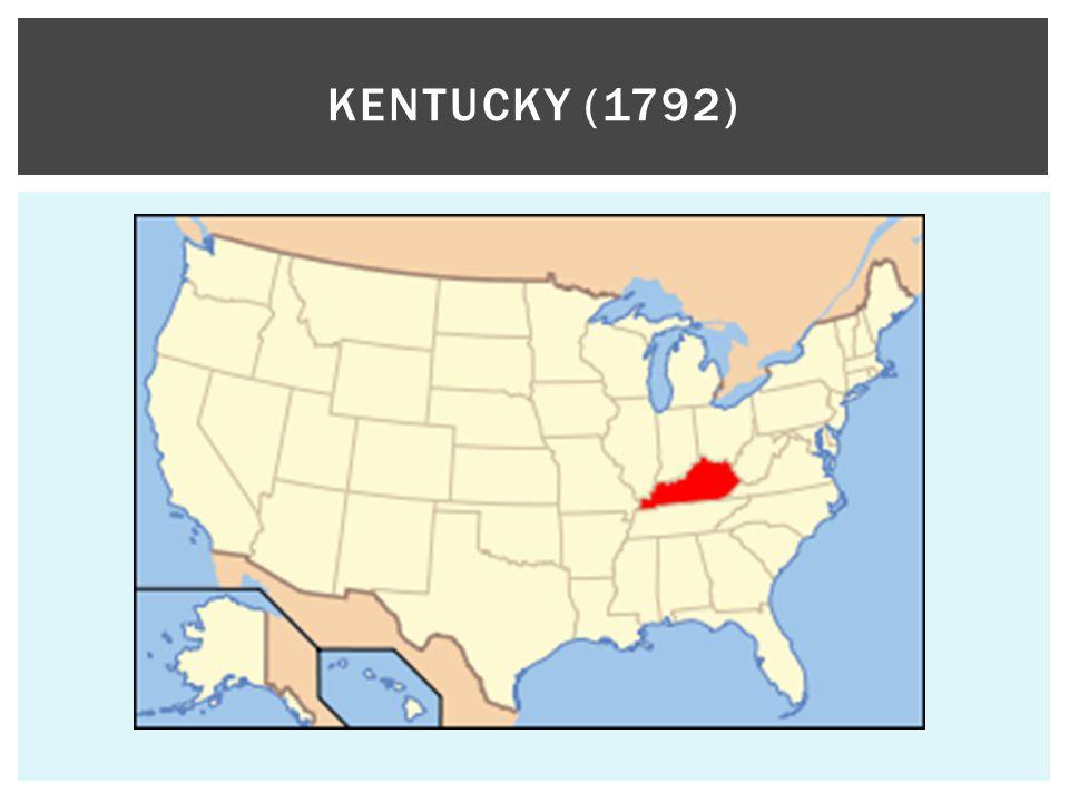 KENTUCKY (1792)
