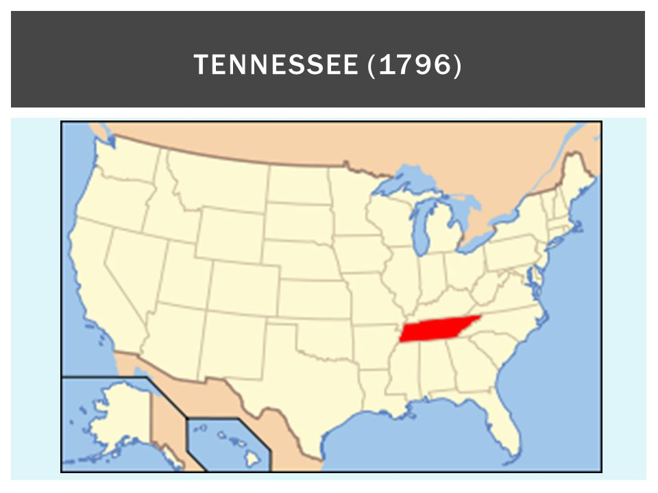 TENNESSEE (1796)