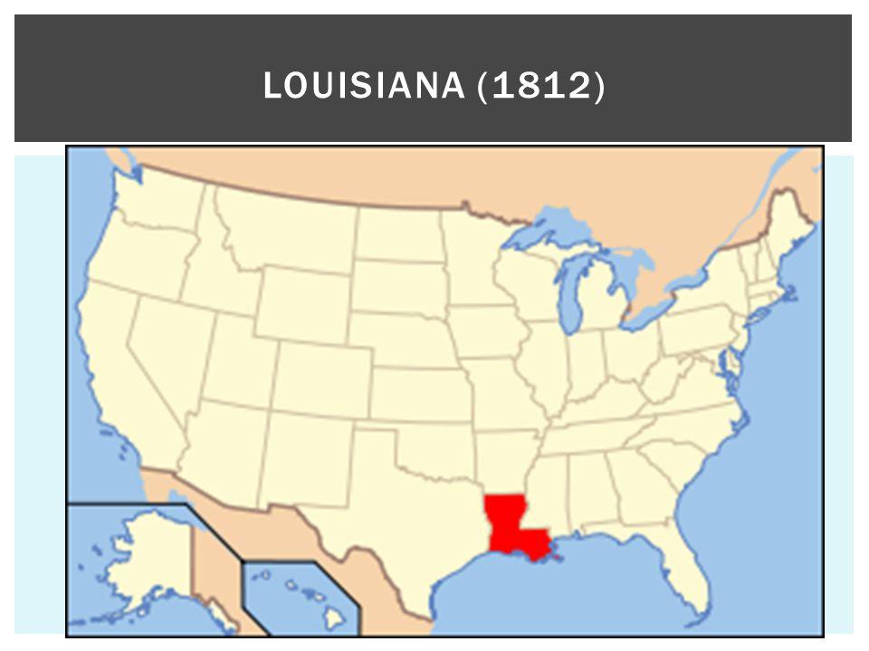 LOUISIANA (1812)