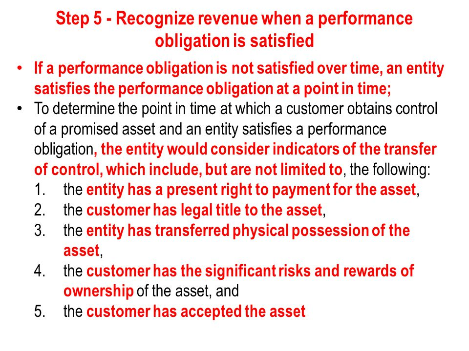 Other requirements of IFRS 15 Portfolio of contracts - Although IFRS 15 specifies the accounting required for an individual contract, yet in some cases, a company may be able to apply the requirements of IFRS 15 to a portfolio of contracts instead of applying the requirements separately to each contract with a customer.
