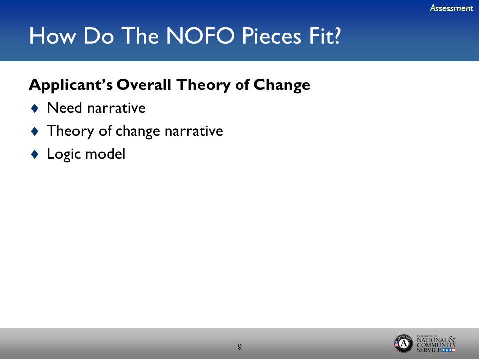 How Do The NOFO Pieces Fit.