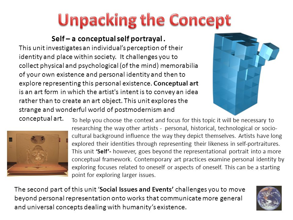 To help you choose the context and focus for this topic it will be necessary to researching the way other artists - personal, historical, technologica