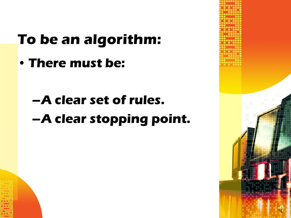 What is an Algorithm.An algorithm is a formula or set of steps for solving a particular problem.