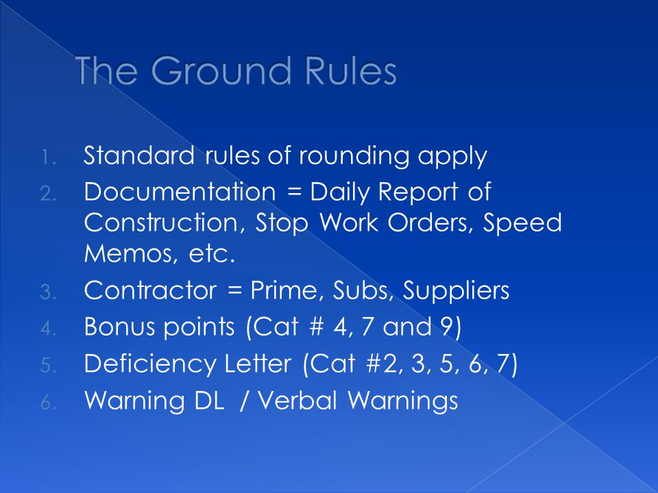 1. Standard rules of rounding apply 2.