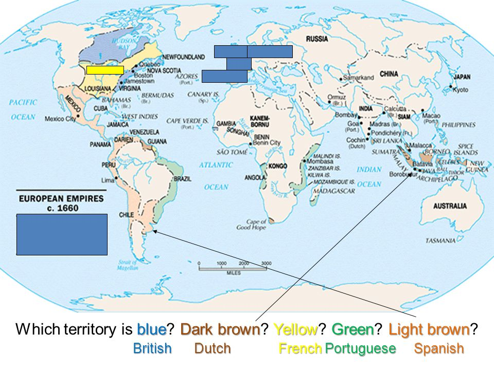 blueDark brownYellowGreenLight brown Which territory is blue.