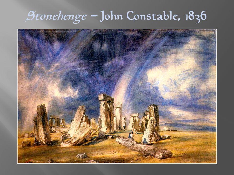 Stonehenge - John Constable, 1836