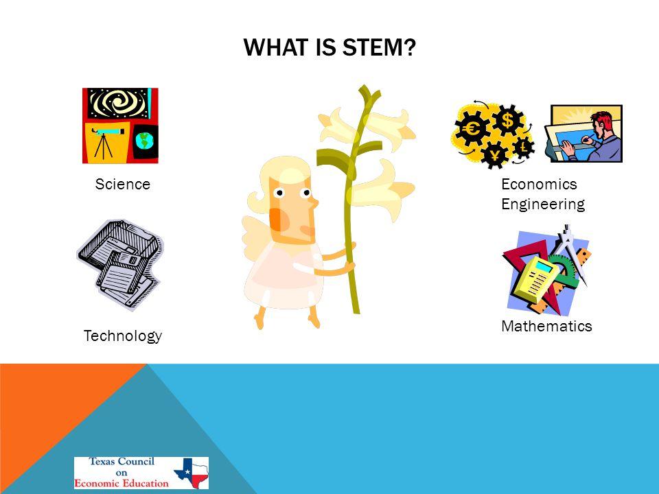 WHAT IS STEM Science Technology Economics Engineering Mathematics