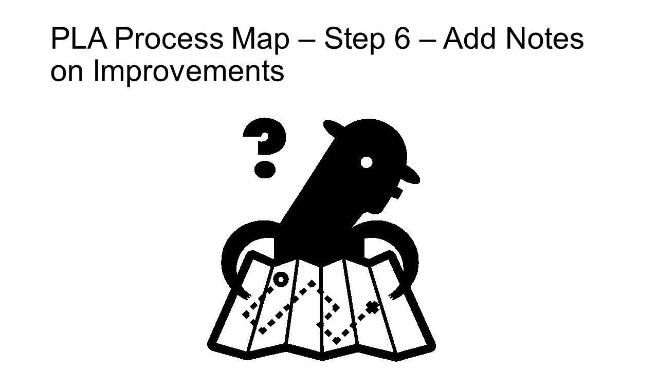 PLA Process Map – Step 6 – Add Notes on Improvements