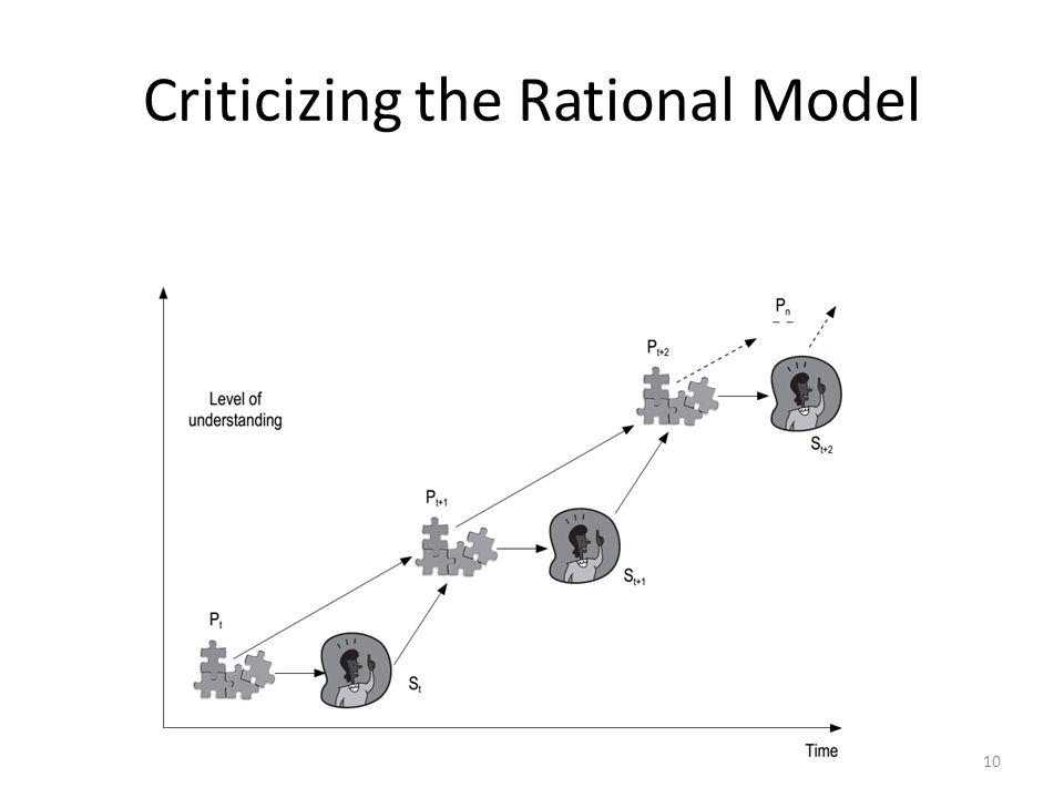 Criticizing the Rational Model 10