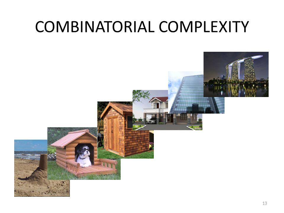 COMBINATORIAL COMPLEXITY 13